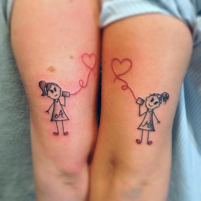 80 Tatuagens De Amizade E Amigas As Melhores Fotos