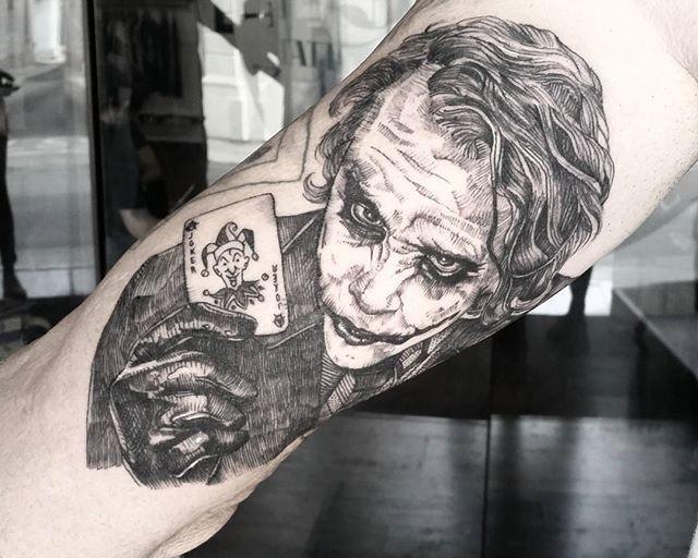 60 Tatuagens de Coringa