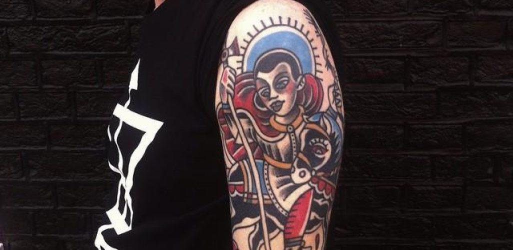 50 Tatuagens De São Jorge Impressionantes