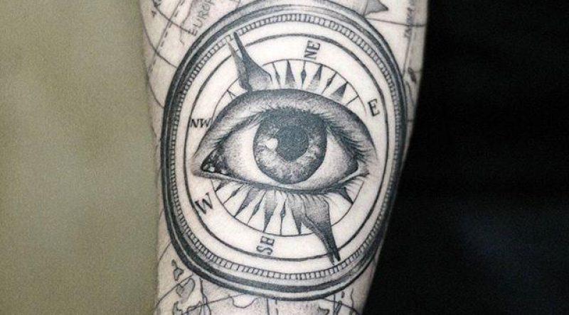 70 tatuagens de olhos que representam o reflexo da alma