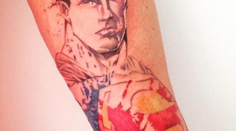 60 tatuagens de Superman para os fãs do super-homem