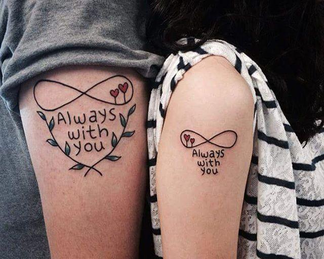 90 Tatuagens para Casal e Namorados