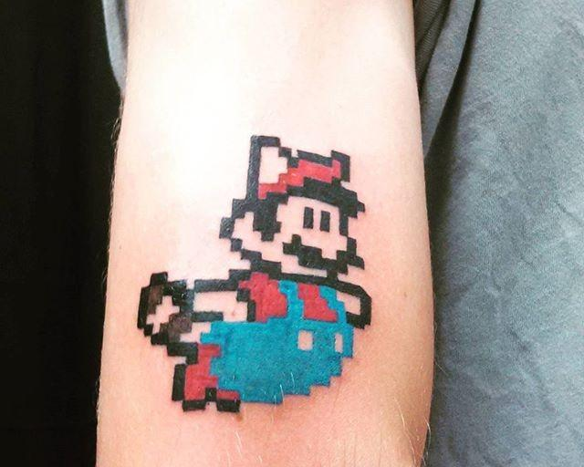 70 Tatuagens do Super Mario Bros