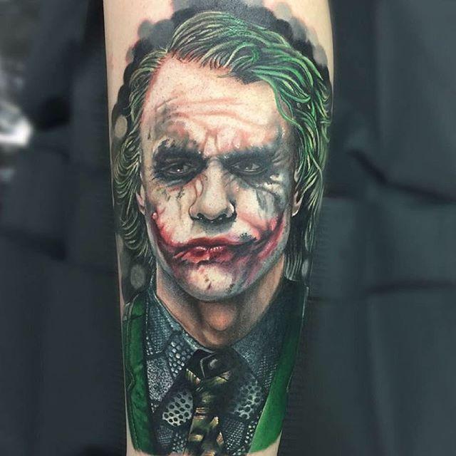The Joker Tattoo Design