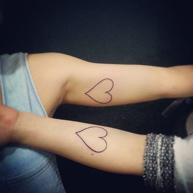 Dois corações e uma história de amizade!