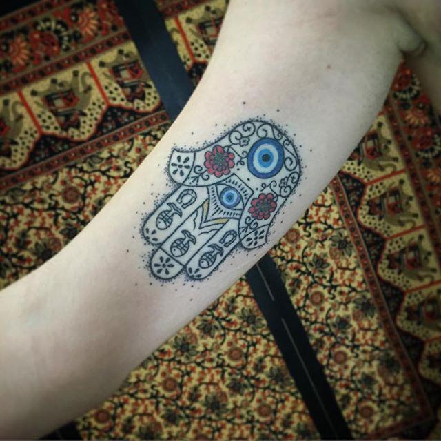 65 Tatuagens De Hamsá Lindas E Criativas Fotos