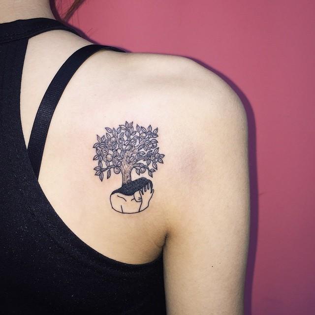 Dê um toque cômico à sua tatuagem e arrase!