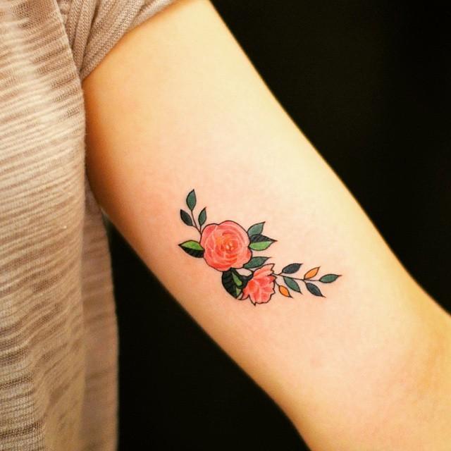 A rosa representa o coração, sensualidade e beleza