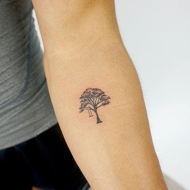 tatuagens femininas delicadas no braço