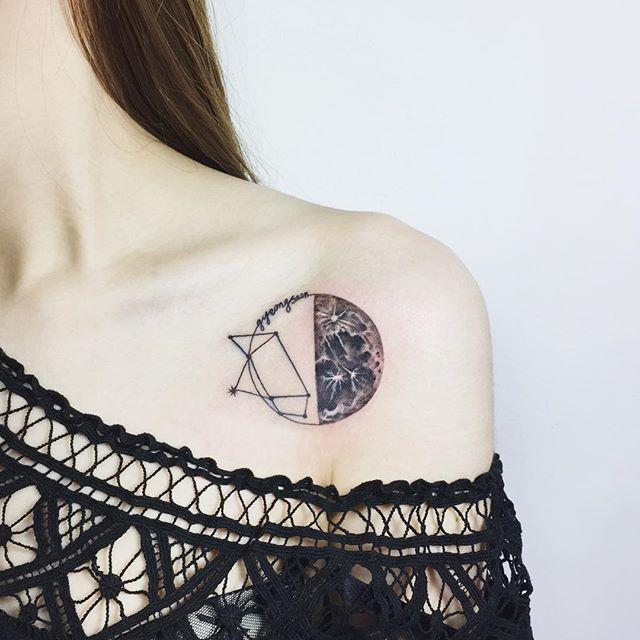 Mescle dois elementos complementares em uma só tatuagem e arrase!