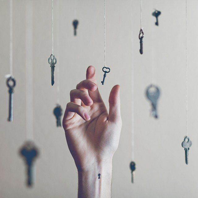 Que tem a chave do seu coração?