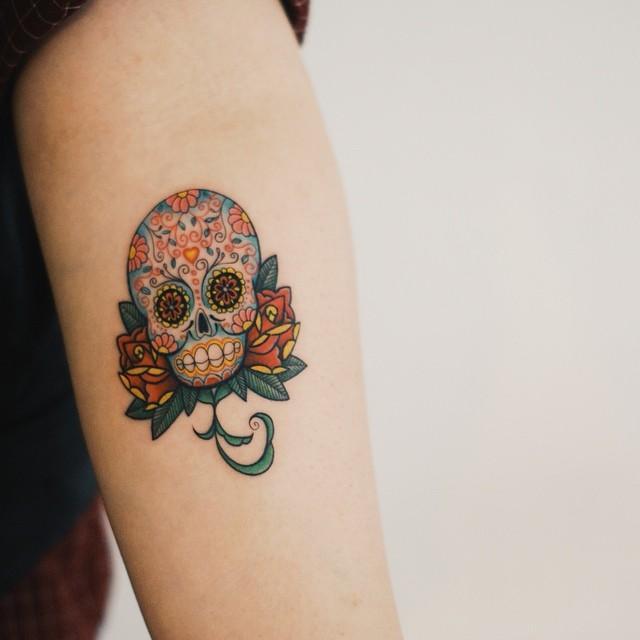 200 tatuagens femininas fotos lindas para inspirar for Tattoos mexicanos fotos