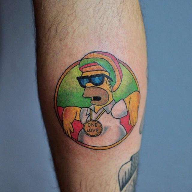 80 Tatuagens Dos Simpsons Lindas E Inspiradoras