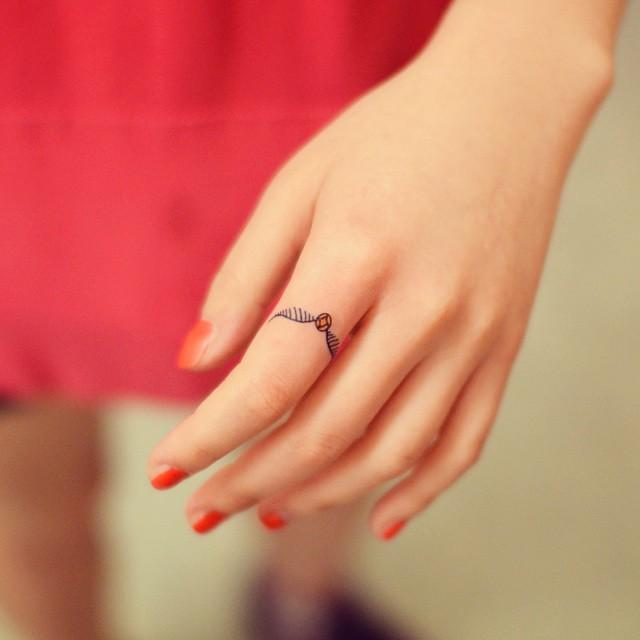 Um anel que ficará estampado para sempre!