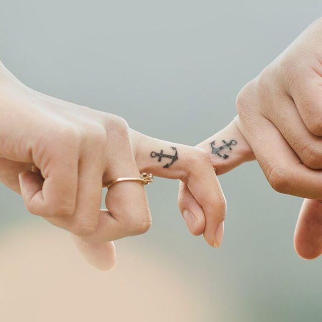 Unidos pela âncora do amor