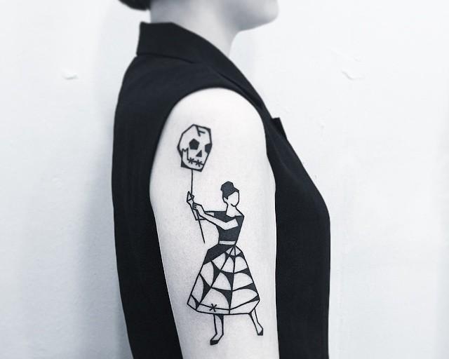 130 Tatuagens Femininas no Braço