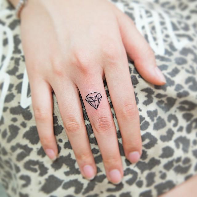 O diamante é sinônimo de poder, força e perfeição