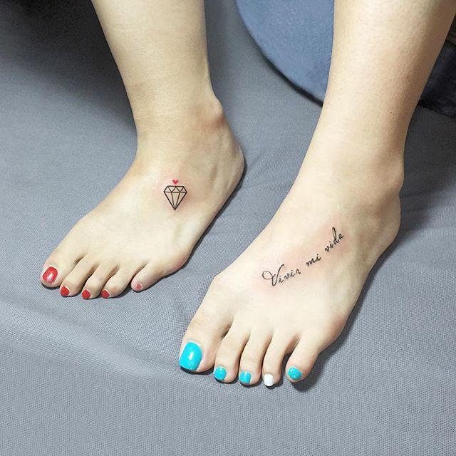 100 Tatuagens No Pé Fotos Lindas E Inspiradoras
