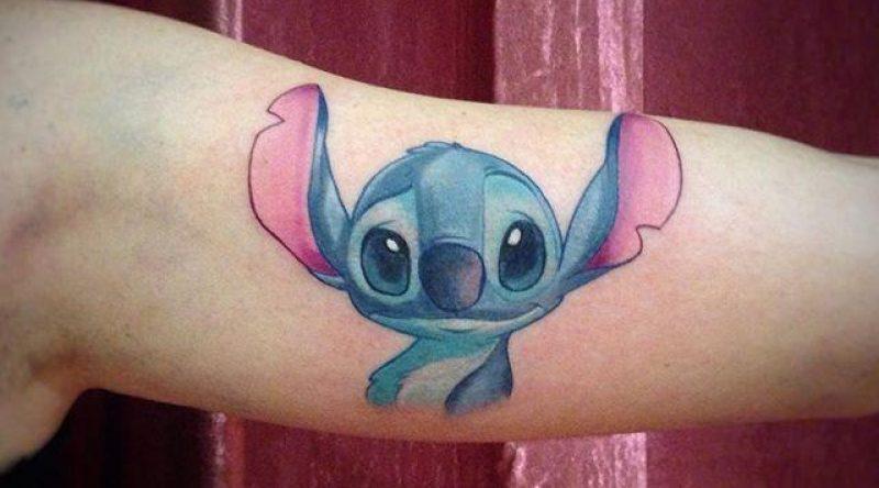 90 tatuagens de personagens da Disney com fotos lindas