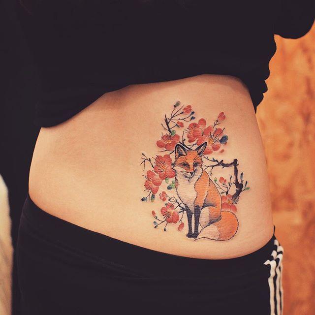 110 Tatuagens Femininas Nas Costas Melhores Fotos