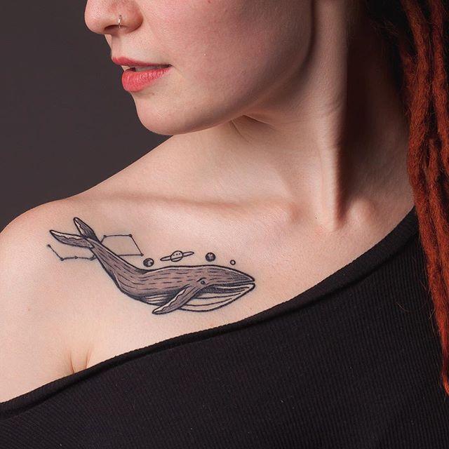 Uma baleia espacial