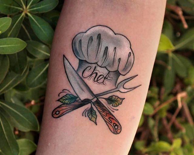 65 Tatuagens para amantes da Comida e Gastronomia