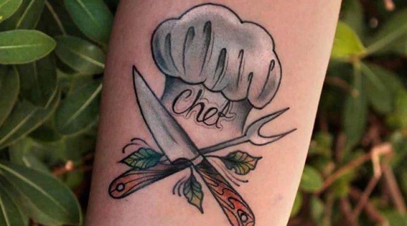 65 tatuagens para aqueles que são amantes da comida e da gastronomia
