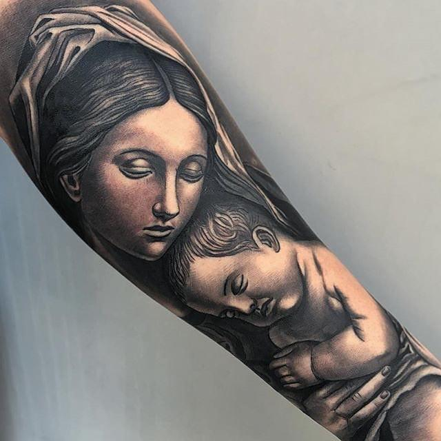 80 Tatuagens Religiosas Incriveis Melhores Fotos