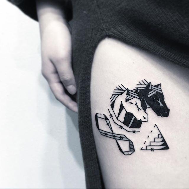 Reúna suas figuras prediletas e dê mais personalidade à tatuagem