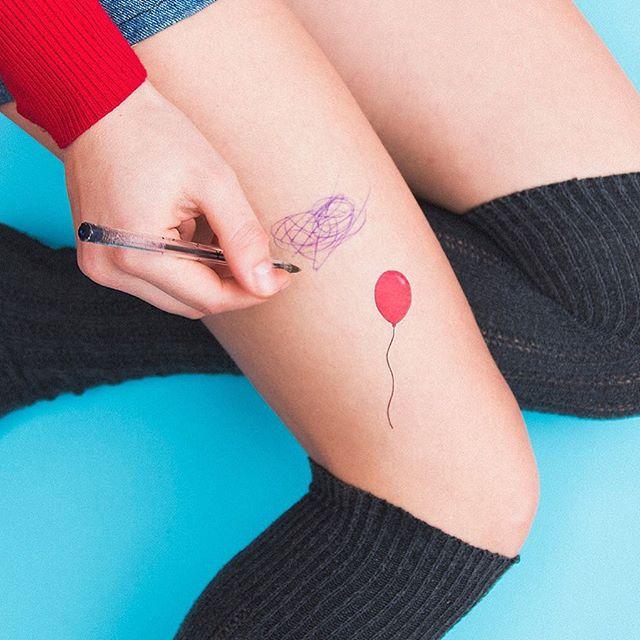 Para quem gosta de algo pequeno e discreto, o balão representa a pessoa sonhadora que quer subir alto