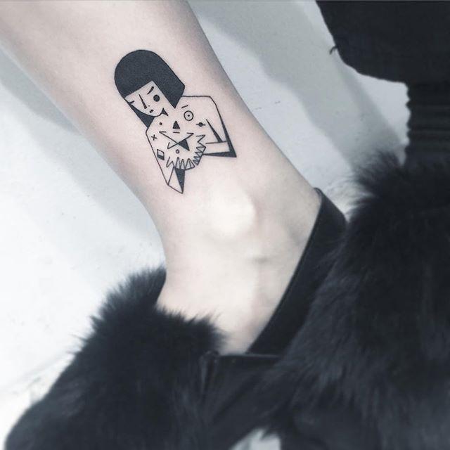 Oriental e blackwork, uma tatuagem diferenciada