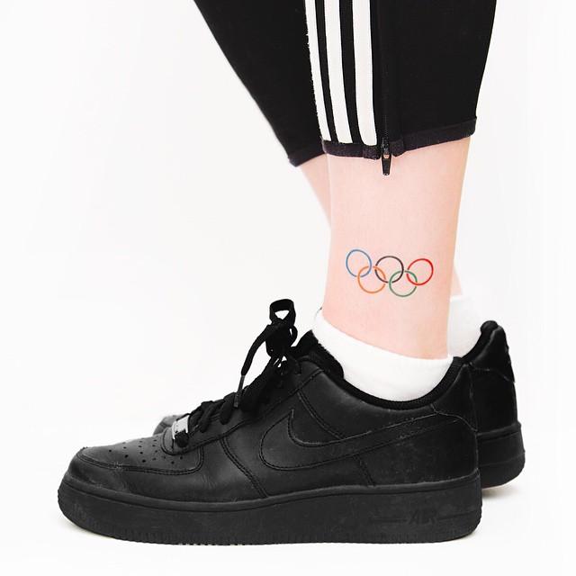 Para nunca cair no esquecimento, o momento das olimpíadas