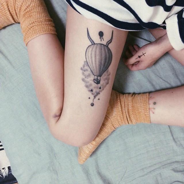 O Balão para os que sonham alto