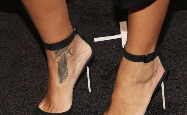 Tatuagem Rihanna Falcão