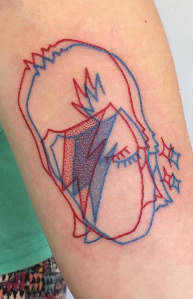 Use a criatividade para fazer uma tatuagem 3D totalmente diferenciada.