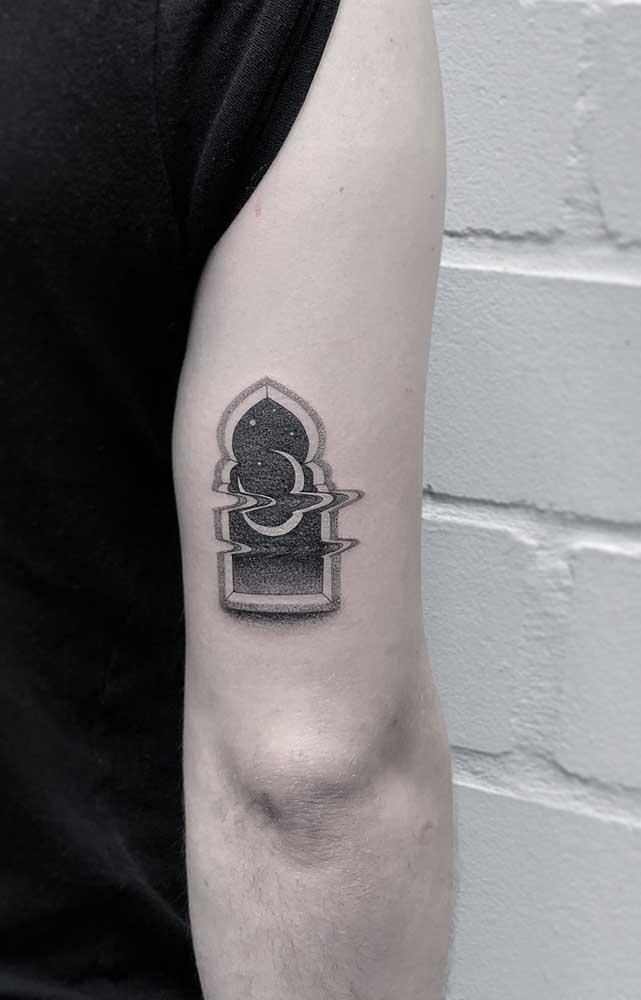 Alguns desenhos são perfeitos para fazer uma tatuagem 3D masculina.