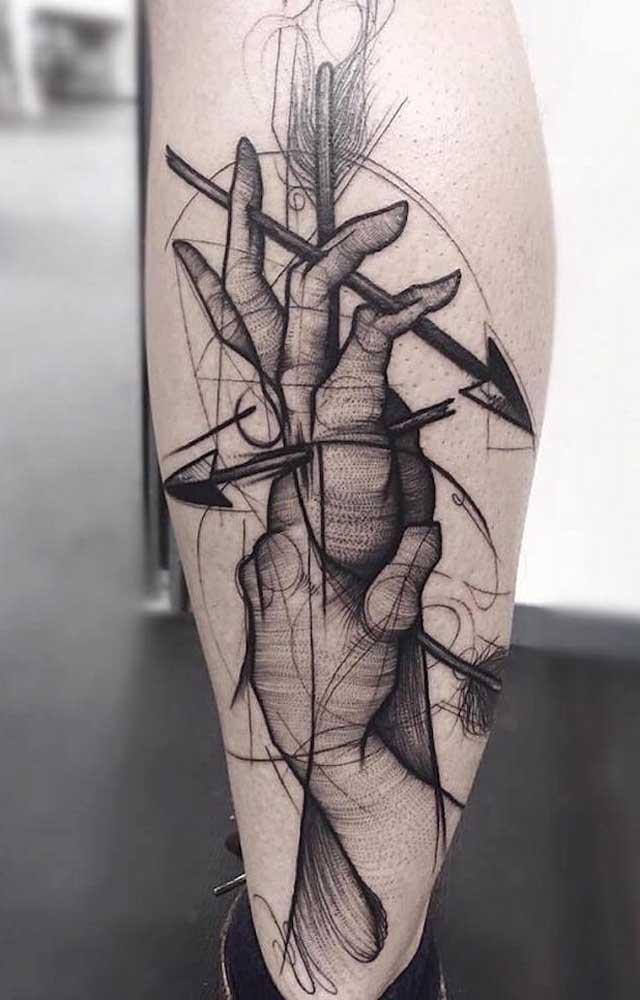 Na tatuagem você tem a oportunidade de expressar em imagem o que você sente ou o que te representa.