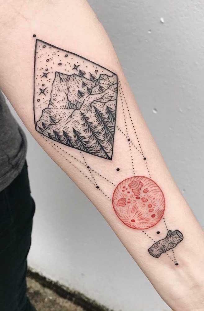 Entendeu a figura? A tatuagem não precisa ser entendida pelos outros, somente por você.