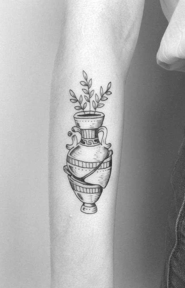 Da mesma forma pode acontecer com um vaso com flores.