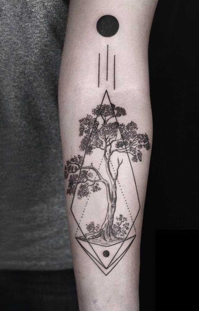 O mais bacana de fazer uma tatuagem é que não há limites para a imaginação.