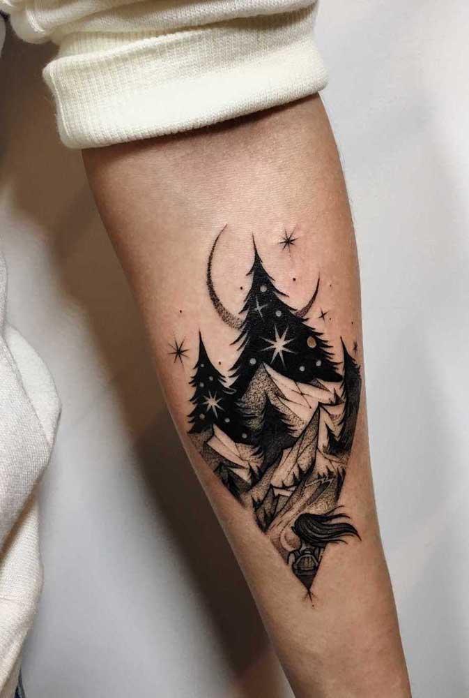 Alguns desenhos são mais indicados como tatuagem masculina no antebraço.