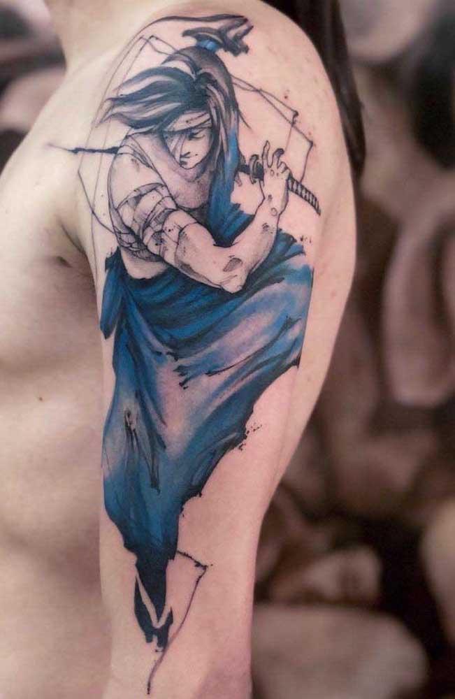 Na hora de escolher o desenho para sua tatuagem, faça algo que tenha algum significado para você.