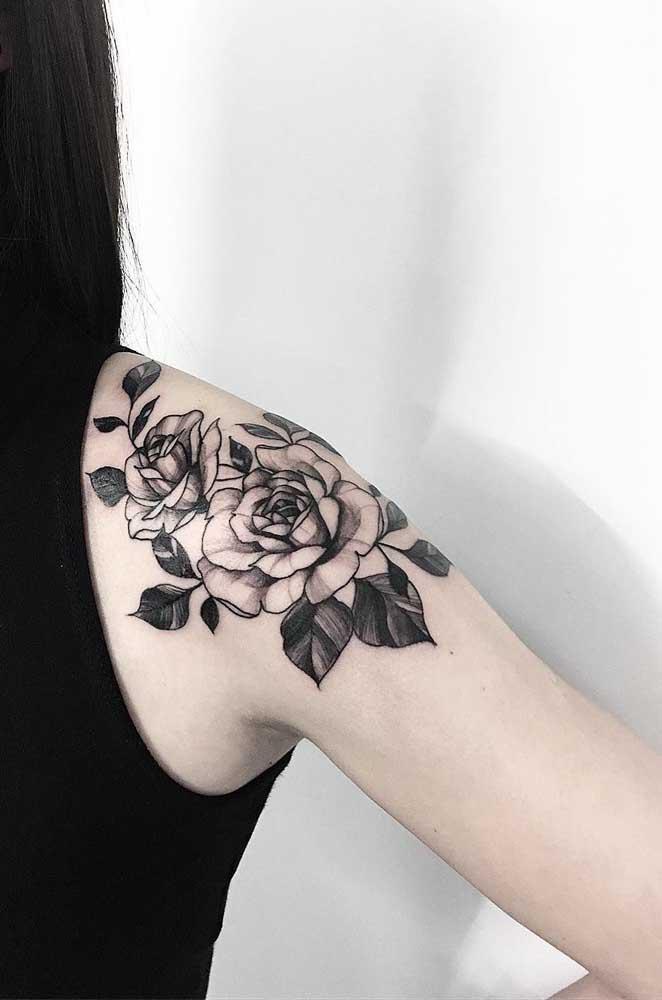 O desenho da tatuagem, geralmente, tem um importante significado para quem faz.