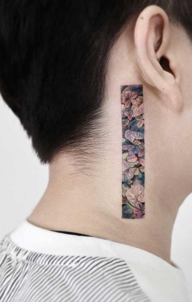 Que tal apostar em uma tatuagem diferenciada para fazer no pescoço?