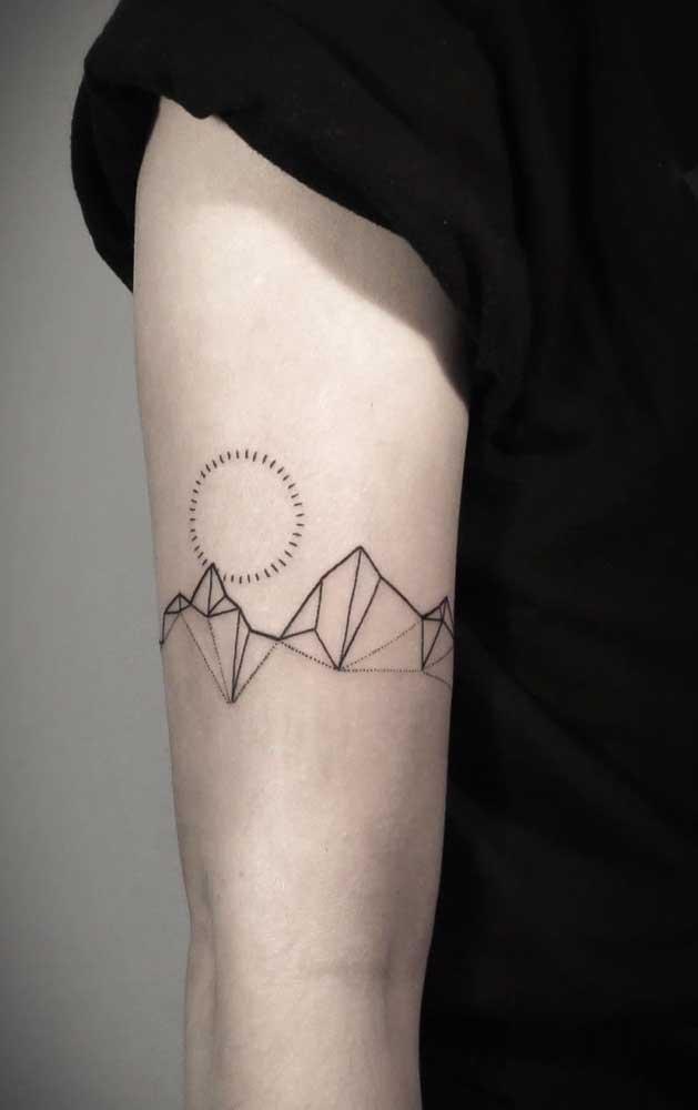 O mais interessante da tatuagem tumblr é que você pode pensar nos desenhos mais diferentes que dá para fazer uma tattoo.