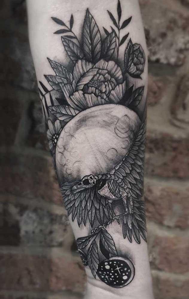 Aposte em uma tatuagem que tenha algum significado para você.