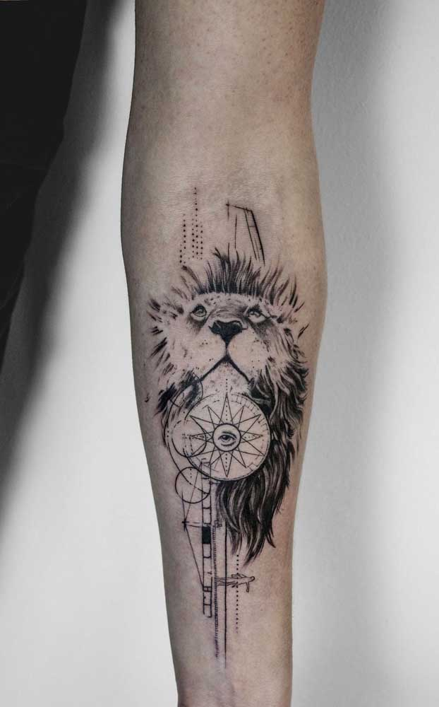 Animal é a figura mais usada na hora de fazer uma tatuagem.