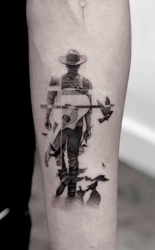Faça uma tatuagem que represente quem você é de verdade.