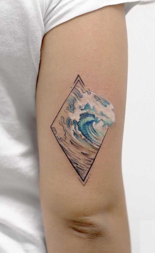 O que acha de eternizar em uma tatuagem aquarela aquilo que você mais ama?