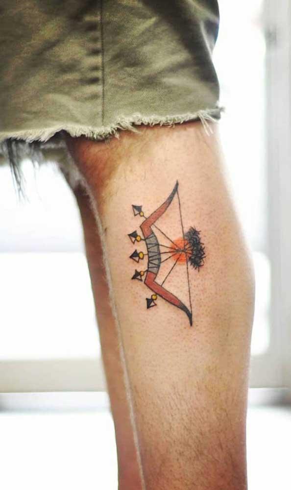 Existem vários modelos de tatuagem de flecha indígena para você escolher.